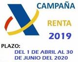 Camapaña de la Renta 2019 - foto