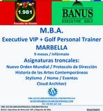 M. B. A.  EXECUTIVE VIP + GOLF - foto