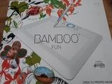 tableta gráfica bamboo - foto
