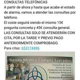 Consulta de Tarot, Telefónica - foto