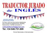 Traductor jurado de Inglés - foto