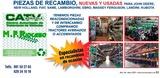 RECAMBIOS Y PIEZAS OCASION - CASE,  CLAAS,  FIAT,  JOHN DEERE - foto