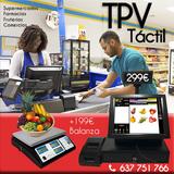 TPV Y BALANZA CON PROGRAMA SUPERMERCADOS - foto