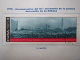 Cuba 1970 aniv. 1ª declaracion la habana - foto