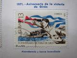 Cuba 1971 aniversario victoria giron - foto