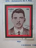 Cuba 1972 aniversario frank pais - foto