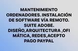 instalación de software mantenimiento Pc - foto