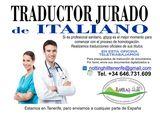 Traducciones juradas de italiano - foto