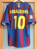 FC BARCELONA 2005/06.  L.  RONALDINHO 10 - foto