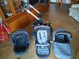 carrito bebé nurse nown de 3 piezas - foto