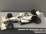 Brawn GP Bgp 001-barrichelo - foto