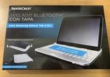 Teclado Bluetooth con tapa para tablets. - foto