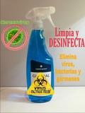 gel hidroalcohólico desinfectante - foto