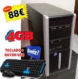 Intel e8400  4gb ram 500hd w10 tecl+rato - foto