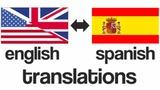 TRADUCCIÓN INGLÉS Y ESPAÑOL - foto