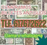Compro billetes y colecciones. Ref. 68jh - foto