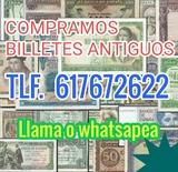 Compro billetes y colecciones. Ref. 2xej - foto