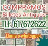 Compro billetes y colecciones. Ref. 3vhd - foto