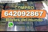 Compro Billetes Extranjeros y Españoles - foto
