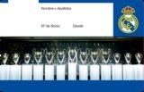 Pin de socio Real Madrid - foto