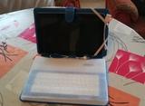 Tablet + teclado + funda - foto