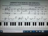 TOCA AL PIANO:  HIMNO NACIONAL DE ESPAÑA - foto