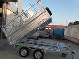 Remolque galvanizado hidraulico toldo - foto