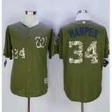 BEISBOLERA MLB NATIONALS HARPER MILITAR - foto