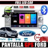 2 DIN GPS ANDROID 9. 0 WIFI DVD FORD KUGA - foto