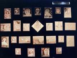 coleccion de sellos, la casa de Borbon - foto