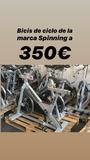 bicis spinning - foto