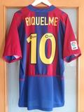 FC BARCELONA 02/03.  L.  RIQUELME PERFECTA - foto
