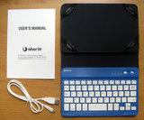 Teclado+funda bluetoot silverht tablet - foto