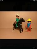 Playmobil Vaquero y Mexicano ref 3240 - foto