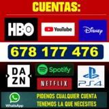 Cuentas Netflix/Hbo/Spotify/etc./%%(´ç´´ - foto