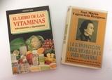LOTE LIBROS - DIETÉTICA Y ALIMENTACIÓN - foto