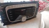 Radio Sony cdmp3 original Ford focus mk2 - foto