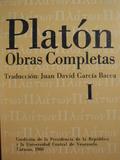 PLATÓN,  OBRAS COMPLETAS - foto