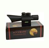Mira telescopica con laser incorporado - foto