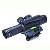 Mira telescopica 4x25  laser incorporado - foto
