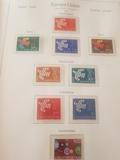 álbum de sellos de tema Europa - foto