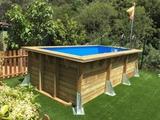 Montadores piscinas rectangulares - foto