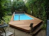 Instalación piscinas prefabricadas liner - foto