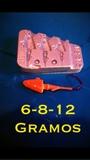 molde cabeza plomada 6-8-12 gramos - foto