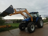 TRACTOR NEW HOLLAND TM125 - foto