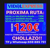 Porte sevilla-españa desd 80eur 365/24h - foto