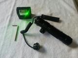 Visor mira laser verde rifle y pistola - foto