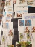 sellos nuevos y usados de España - foto