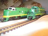 2 Locomotoras diesel db ho mehano - foto