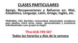 CLASES PARTICULARES PRIMARIA/ESO - foto